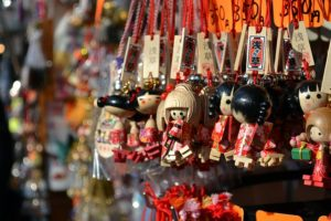 Asakusa Kokeshi Key Holders